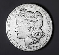 1888-O MORGAN SILVER DOLLAR. VAM. OVAL