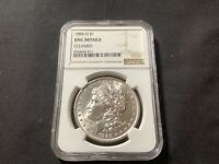 1884 O MORGAN SILVER DOLLAR NGC UNCIRCULATED DETAILS CLEANED