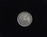 HS&C: 1856 SEATED LIBERTY DIME VF - US COIN