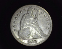 HS&C: 1872 WITH MOTTO LIBERTY SEATED DOLLAR F - US COIN