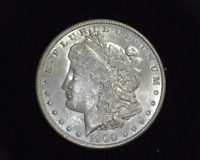 HS&C: 1900 O MORGAN SILVER DOLLAR CHOICE BU - US COIN