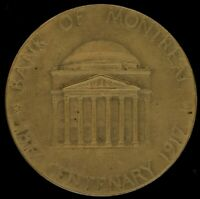 CANADIAN 1917 BANK OF MONTREAL CENTENARY MEDAL