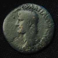 AS GERMANICUS CAESAR RV LARGE S C 10.03 GRAM 27 8MM ISSUED BY CALIGULA AD 40 1