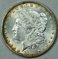 1881 $1 MORGAN SILVER DOLLAR MINT STATE UNCIRCULATED UNC