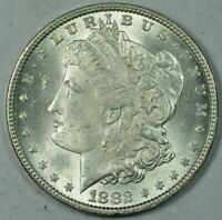 1882 $1 MORGAN SILVER DOLLAR MINT STATE UNC UNCIRCULATED