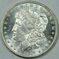 1887-O MORGAN SILVER DOLLAR MINT STATE UNCIRCULATED MS