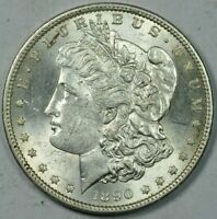 1890-S  MORGAN SILVER DOLLAR MINT STATE UNCIRCULATED MS UNC