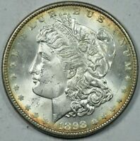 1898 MORGAN SILVER DOLLAR MINT STATE UNCIRCULATED MS UNC