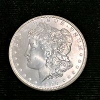 CHOICE UNCIRCULATED 1900-P MORGAN SILVER DOLLAR WITH BRILLIANT MINT LUSTER