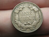 1858 FLYING EAGLE PENNY CENT- SMALL LETTERS, VG/FINE DETAILS