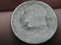 1829 90 SILVER CAPPED BUST DIME