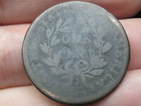 1806 DRAPED BUST LARGE CENT PENNY-  DATE