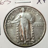 1926-S  EXTRA FINE   STANDING LIBERTY QUARTER    COIN