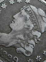 1829 CAPPED BUST HALF DIME- VF/EXTRA FINE  DETAILS