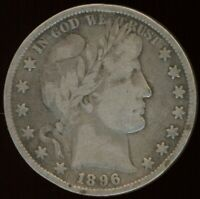 1896 BARBER 50 CENTS