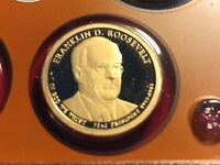 2014 S FRANKLIN D ROOSEVELT PRESIDENTIAL  PROOF DOLLAR  SHIPS FREE