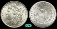 1897-O PCGS MINT STATE 63 MORGAN DOLLAR CAC