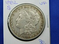 1882 S MORGAN SILVER DOLLAR VF COIN  472