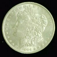 1904 MORGAN SILVER DOLLAR UNC    9404