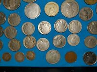 COIN COLLECTION SILVER DOLLAR INDIAN HEADS BUFFALO NICKLES L