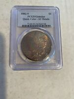 1882 S MORGAN SILVER DOLLAR PCGS