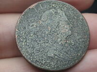 1798 DRAPED BUST LARGE CENT PENNY- STYLE 1 HAIR