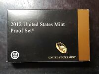 THE RARE 2012 US MINT PROOF SET WITH BOX/COA   US COINS