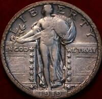 1919 D DENVER MINT SILVER STANDING LIBERTY QUARTER