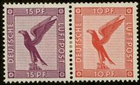 GERMANY 1930 EAGLE AIRMAIL SE TENANT ZUSAMMENDRUCK MH 82104