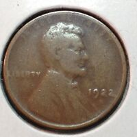 1922-D  GOOD  LINCOLN CENT