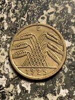1925 E GERMANY 5 PFENNIG LOTQ9473