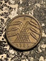 1925 F GERMANY 5 PFENNIG LOTQ9476
