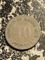 1875 H GERMANY 10 PFENNIG LOTQ9518