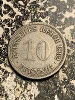 1892 F GERMANY 10 PFENNIG LOTQ9545