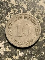 1897 G GERMANY 10 PFENNIG LOTQ9551