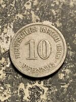 1898 A GERMANY 10 PFENNIG LOTQ9552