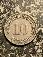 1902 F GERMANY 10 PFENNIG LOTQ9566