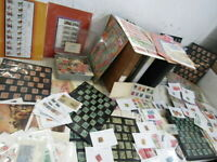 NYSTAMPS THOUSANDS MINT USED OLD US STAMP COLLECTION ALBUMS