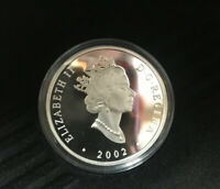 2002 CANADA $20 TRANSPORTATION PROOF SILVER GRAY DORT DC4