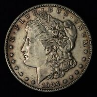 1904-S $1 MORGAN SILVER DOLLAR SAN FRANCISCO MINT UNITED STATES COIN