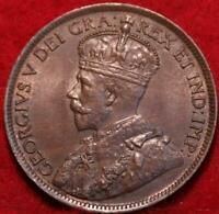1914 CANADA ONE CENT FOREIGN COIN