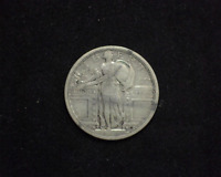 HS&C: 1917 S TYPE 1 STANDING LIBERTY QUARTER VG - US COIN