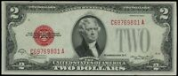 1928 D $2 UNITED STATES NOTE RED SEAL