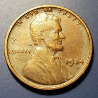 1924 P LINCOLN WHEAT CENT SV47