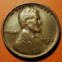 1932 D LINCOLN WHEAT CENT HIGHER GRADE AU NT40