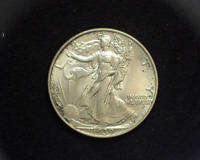 HS&C: 1939 WALKING LIBERTY HALF DOLLAR BU - US COIN