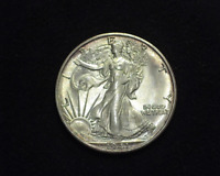 HS&C: 1941 S WALKING LIBERTY HALF DOLLAR BU, CHOICE - US COIN
