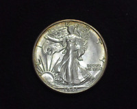 HS&C: 1941 S WALKING LIBERTY HALF DOLLAR BU,  - US COIN