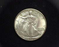 HS&C: 1939 WALKING LIBERTY HALF DOLLAR BU, CHOICE - US COIN