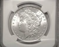HS&C: 1881 MORGAN DOLLAR NGC - MINT STATE 63